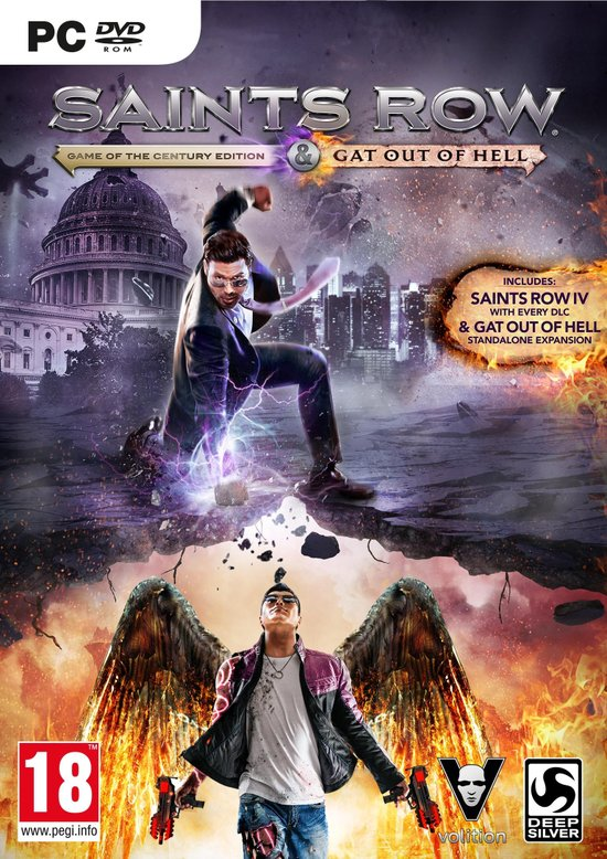 Saints Row 4: Re-Elected + Gat Out Of Hell - pc game