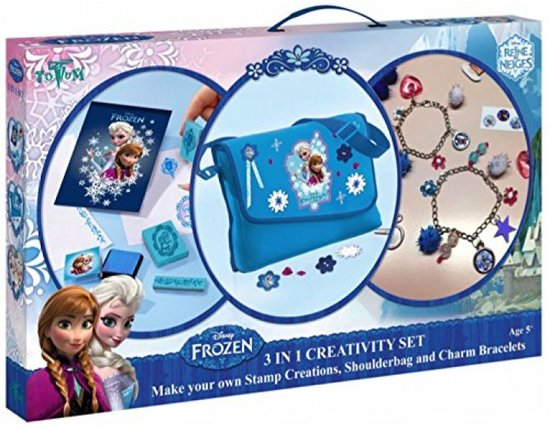 Frozen 3 in 1 Creativity set