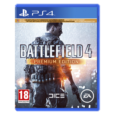 Battlefield 4: Premium Edition voor  PS4