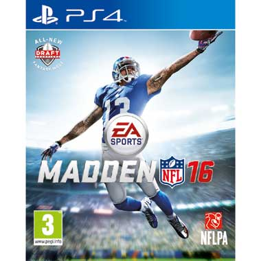 Madden NFL 16 voor Playstation 4 (PS4)