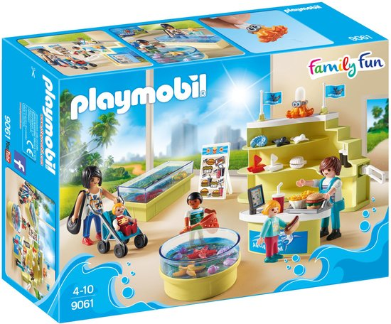 PLAYMOBIL 9061 Family Fun Aquariumshop