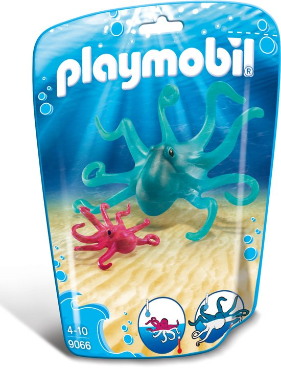 PLAYMOBIL 9066 Family Fun  Inktvis met jong