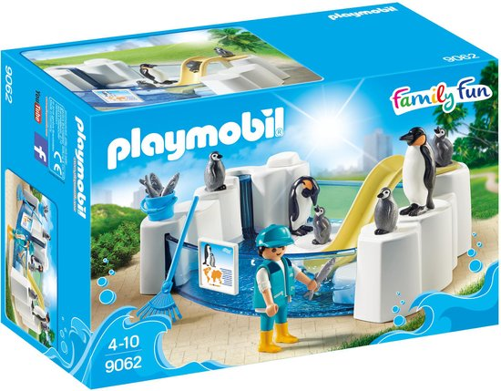 PLAYMOBIL 9062 Family Fun  Pinguïnverblijf