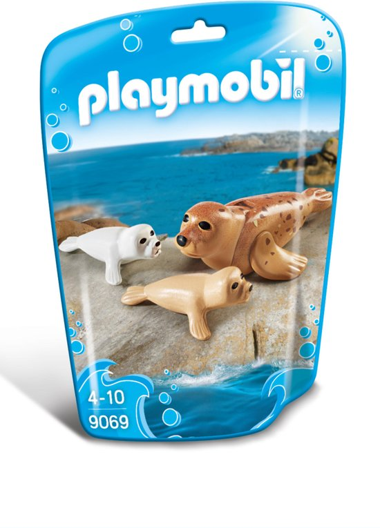 PLAYMOBIL 9069 Family Fun Zeehond met pups
