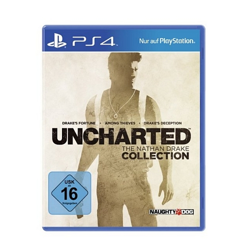 Uncharted, the nathan drake collection voor