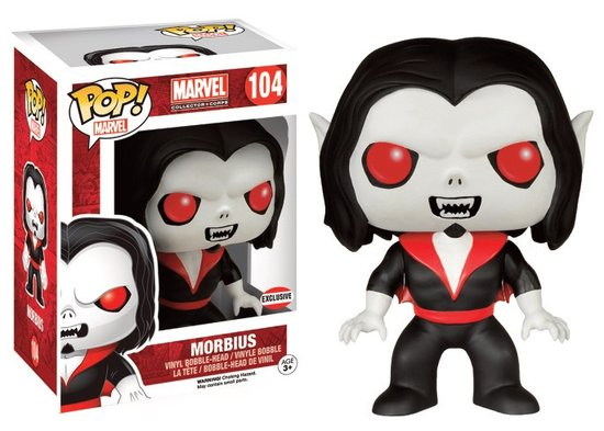 MARVEL - Bobble Head POP N° 104 - Morbius The Living Vampire LIMITED