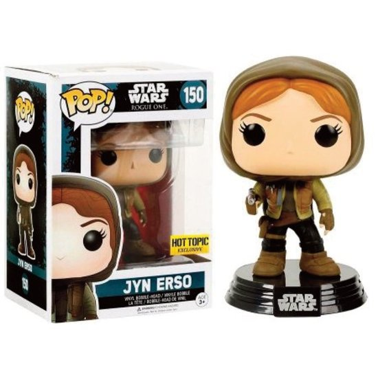 Pop! Star Wars: Rogue One - Jyn Erso Hooded LE