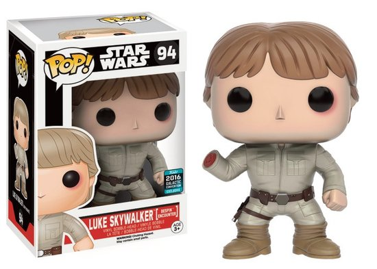 STAR WARS - Bobble Head POP N° 94 - Luke Skywalker Bespin... LIMITED