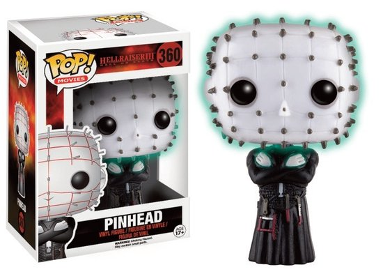 HORROR - Bobble Head POP N° 360 - Hellraiser Pinhead GITD LIMITED