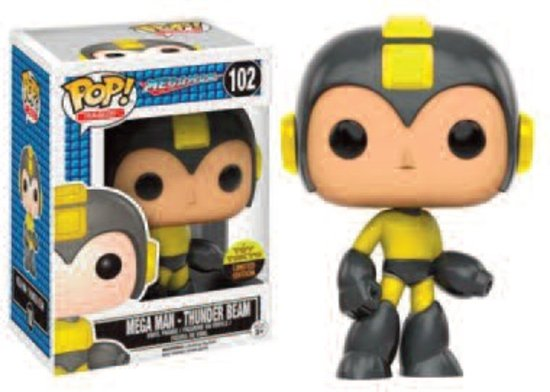 Pop! Games: Power Beam Megaman NYCC LE