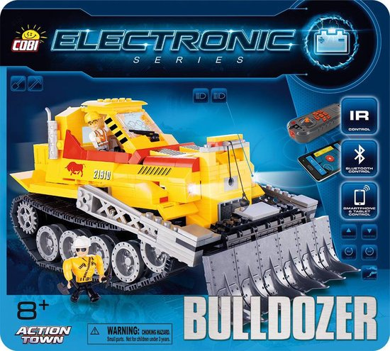 Cobi - Action Town Electronic - Bulldozer (21910)