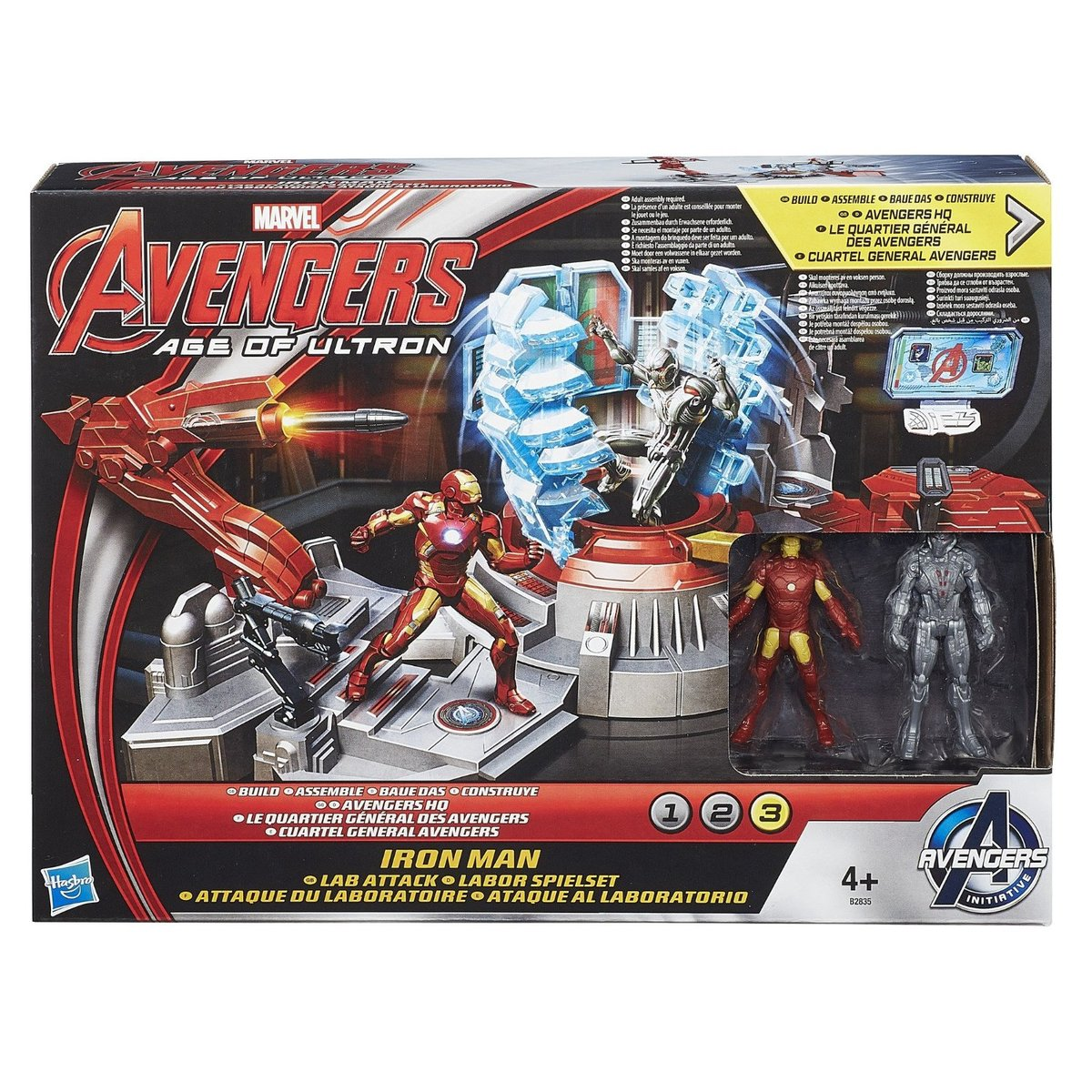 Marvel Avengers Age of Ultron - Iron Man - Lab Attack