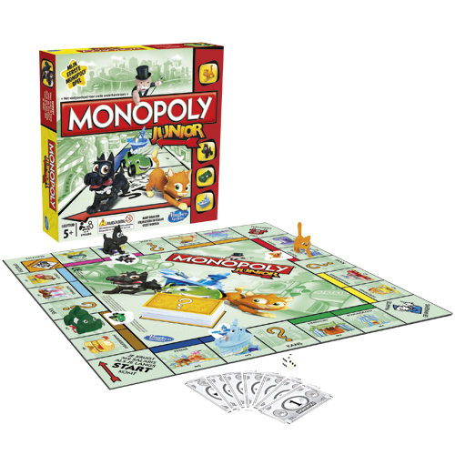 Monopoly Junior NL Bordspel