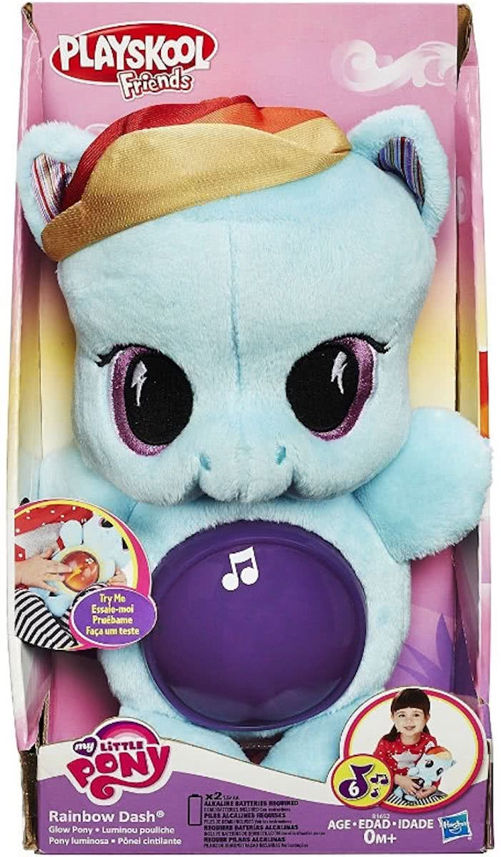 Playskool Friends My Little Pony Glow Rainbow Dash