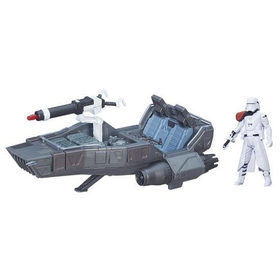 Star Wars The Force Awakens: Snowspeeder with Snowtrooper