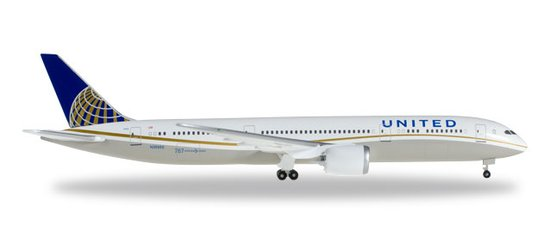 Boeing 787-9 D. United Airlines