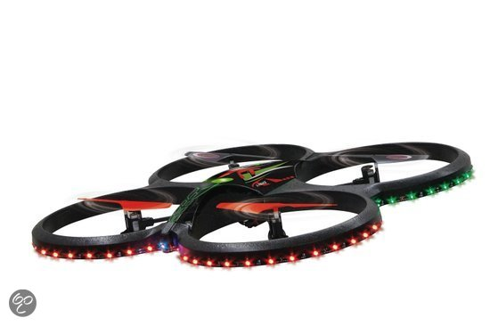 Flyscout Quadcopter met LED Camera - Drone