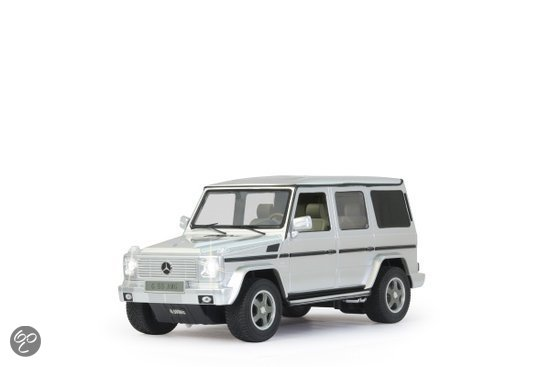 Mercedes G55 AMG - RC Auto - Zilver