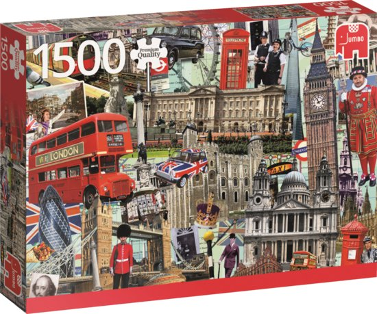 Best of… London - Puzzel 1500 stukjes