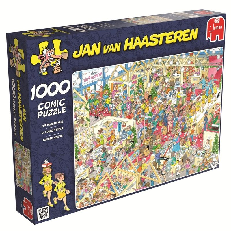 Jan van Haasteren The Winter Fair 1000