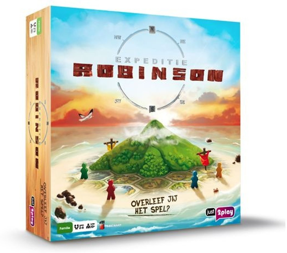 Just2play Bordspel: Expeditie Robinson
