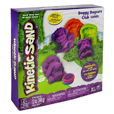 KINETIC SAND ACK Doggy Daycare Set