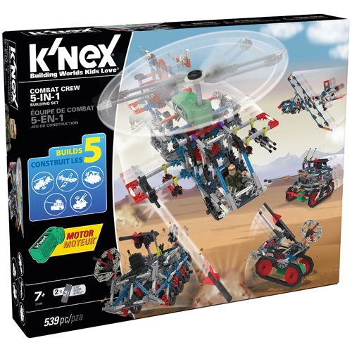 Knex Combat Crew 5-in-1 Building Set