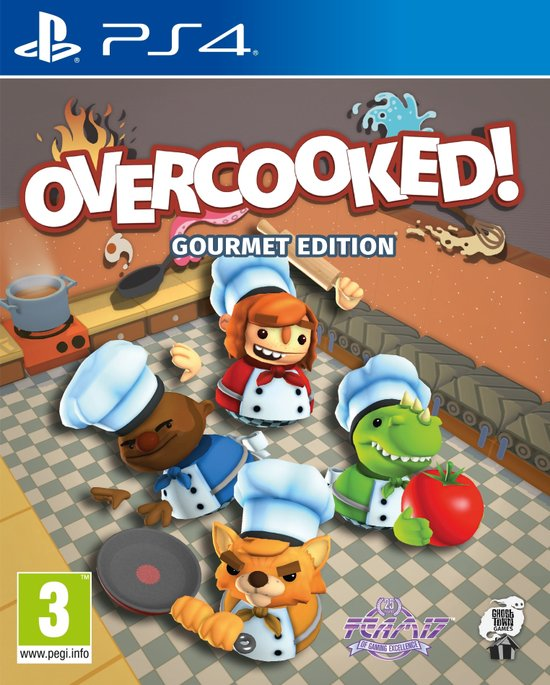 Overcooked ! - Gourmet Edition - Playstation 4