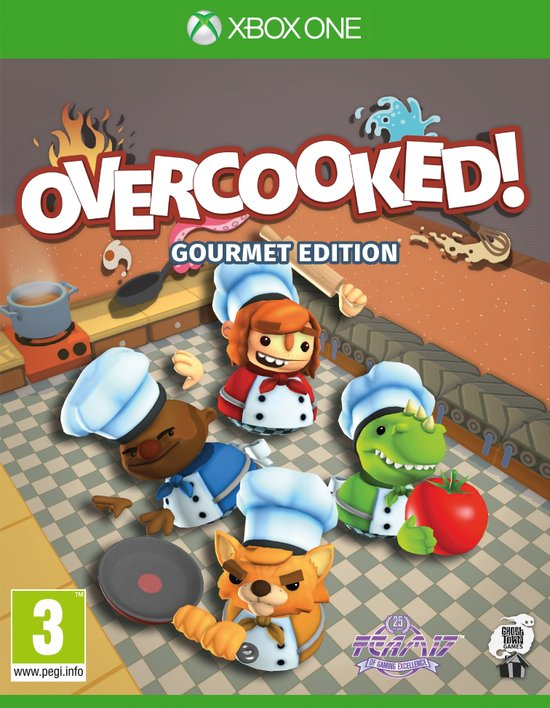 Overcooked ! - Gourmet Edition - Xbox One