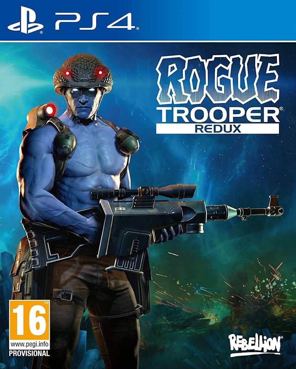 Rogue Trooper Redux voor ps4
