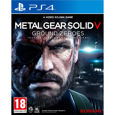 Metal Gear 5 Ground Zeroes voor