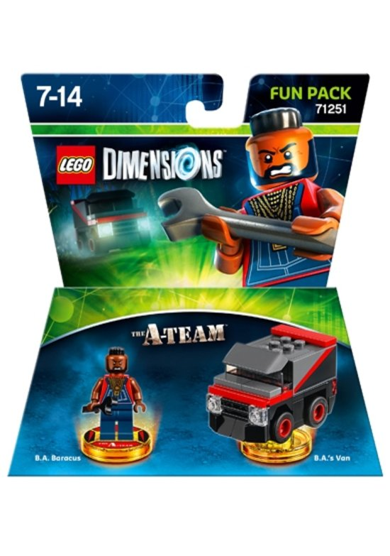 LEGO Dimensions: The A-Team - Fun Pack 71251 -