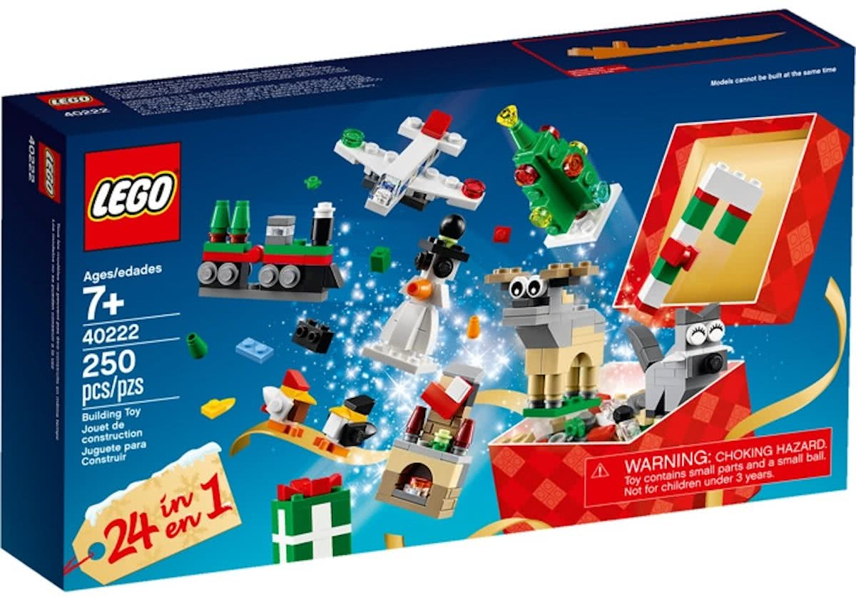 40222 LEGO - 24 in 1 Holiday Countdown Set