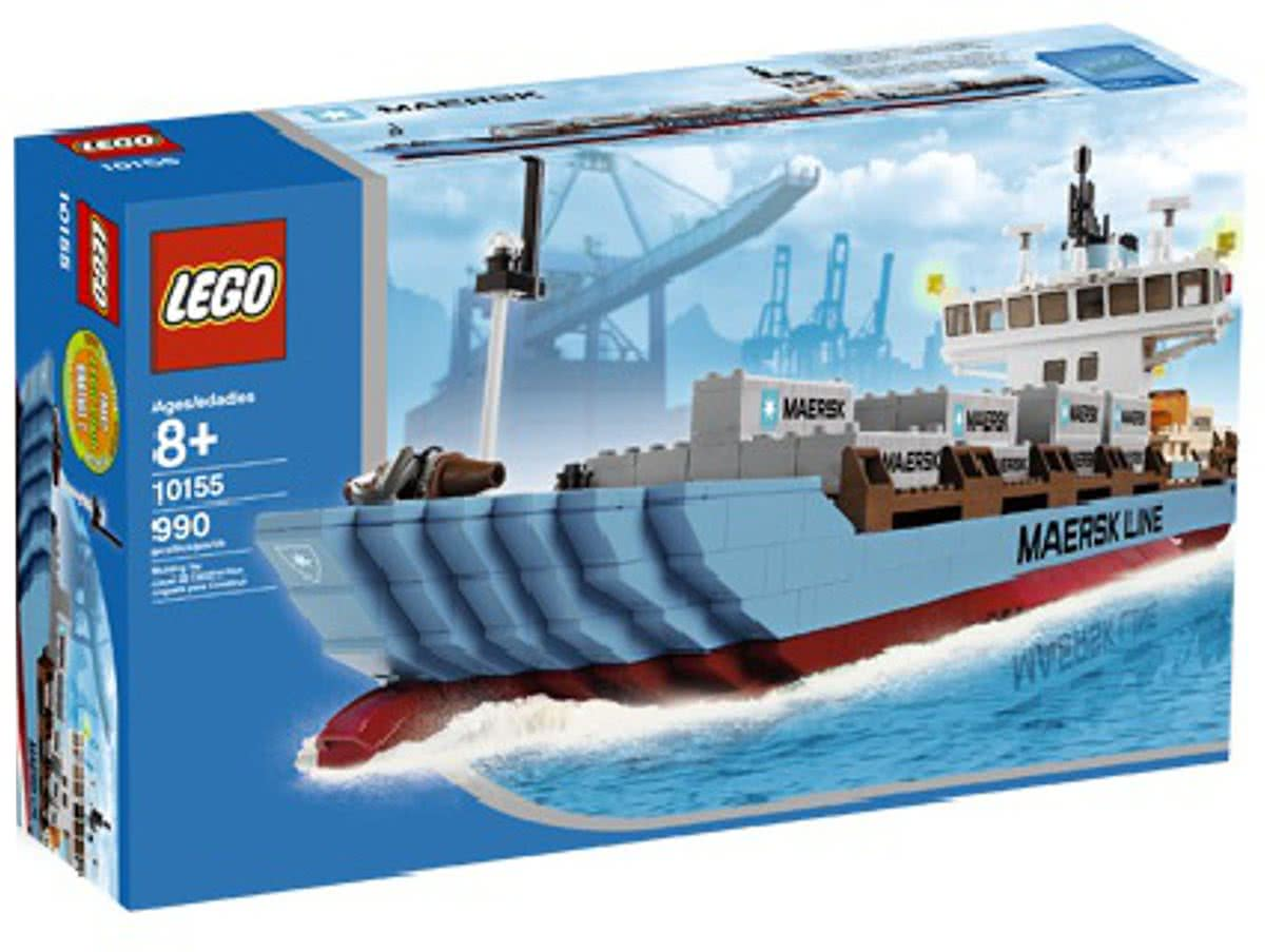 10155 LEGO Maersk Line container schip