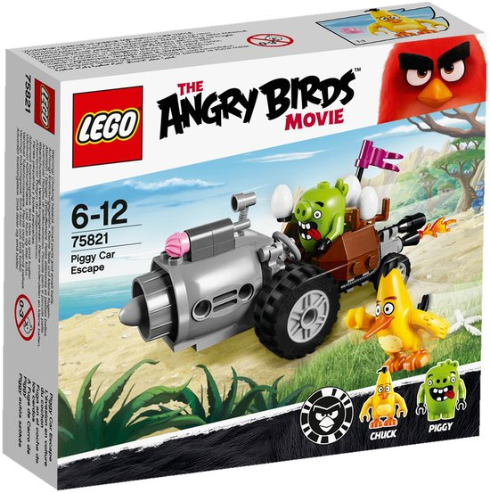 LEGO Angry Birds Piggy Auto-ontsnapping - 75821