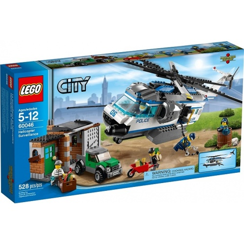 LEGO CITY helikopter bewaking 60046
