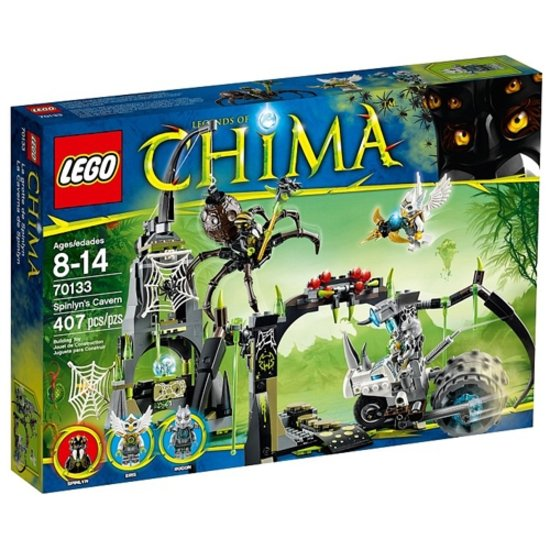 LEGO Chima 70133 Spinlyns Grot