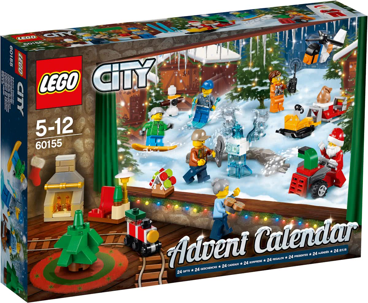 60155 LEGO City Adventkalender