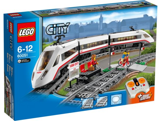 LEGO City Hogesnelheidstrein 60051