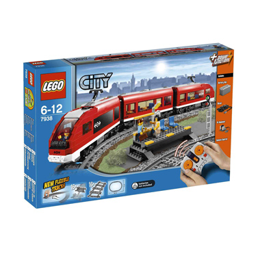 LEGO City Passagierstrein 7938