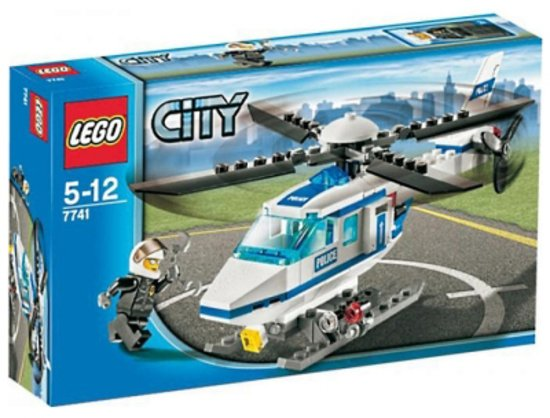 LEGO City Politiehelikopter - 7741