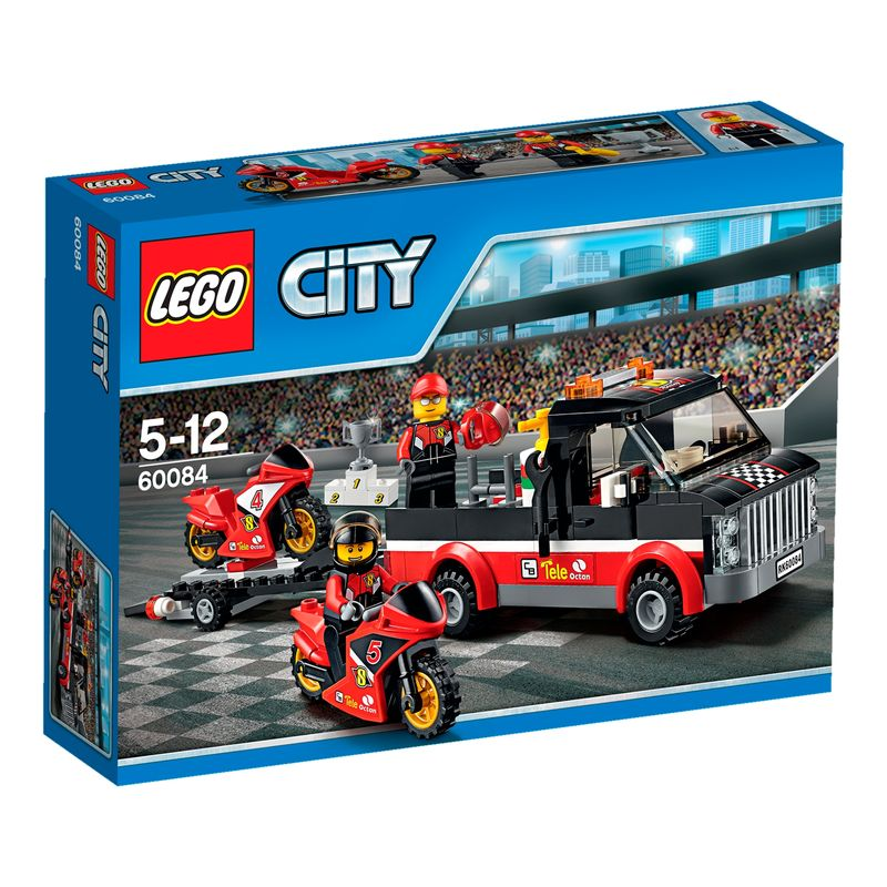 LEGO City Racemotor Transport 60084