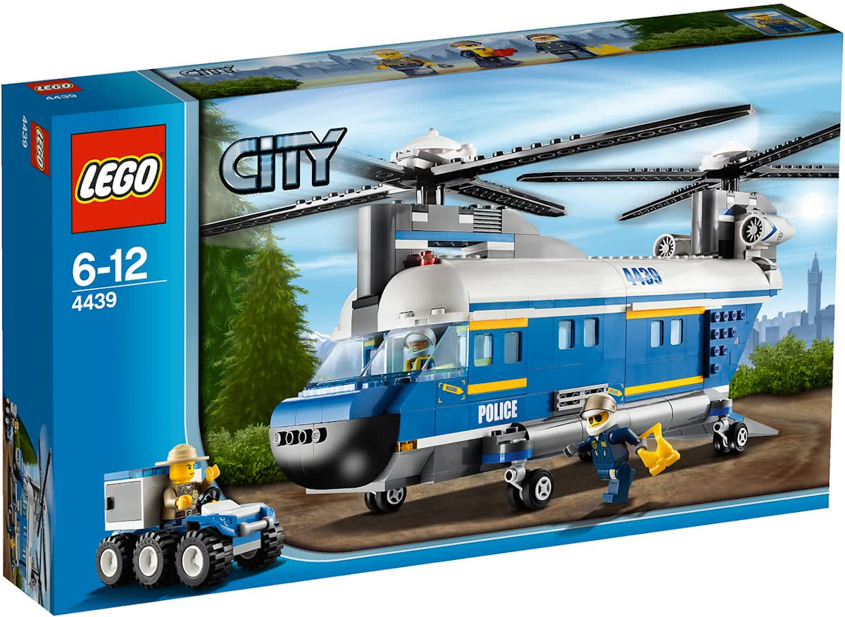 4439 LEGO City Vrachthelikopter