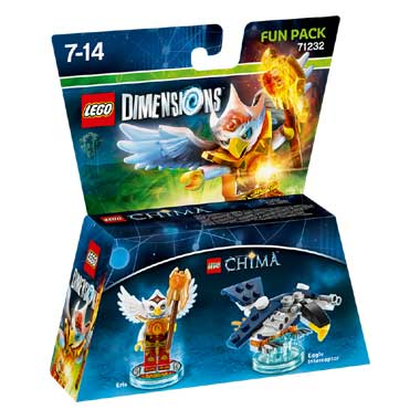 LEGO Dimensions Chima Eris Fun Pack 71232