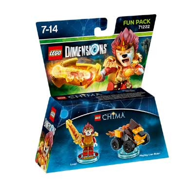 LEGO Dimensions Chima Laval Fun Pack 71222