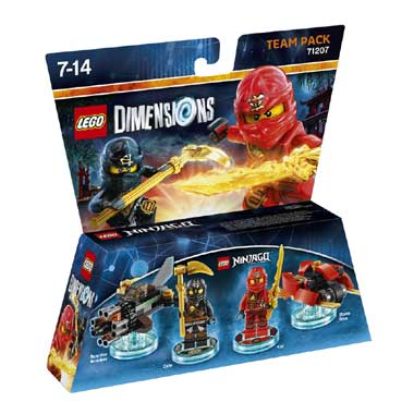 LEGO Dimensions Ninjago Team Pack 71207