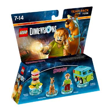 LEGO Dimensions Scooby-Doo! Team Pack 71206