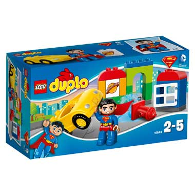 LEGO Duplo Superman Reddingsactie 10543