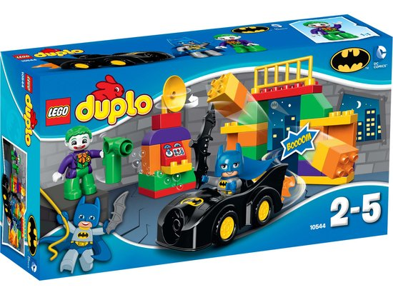 LEGO Duplo The Joker Uitdaging 10544