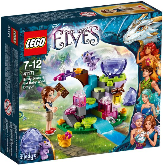 LEGO Elves Emily Jones & de Baby Winddraak - 41171